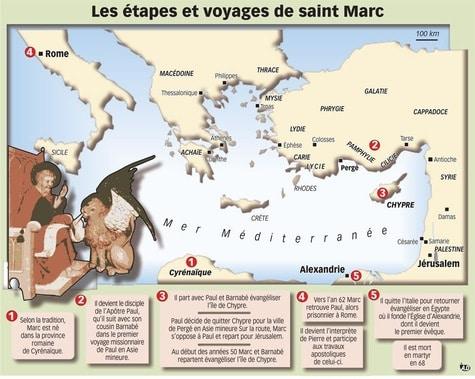 Chronologie du ministère de Marc proposé par La Croix.