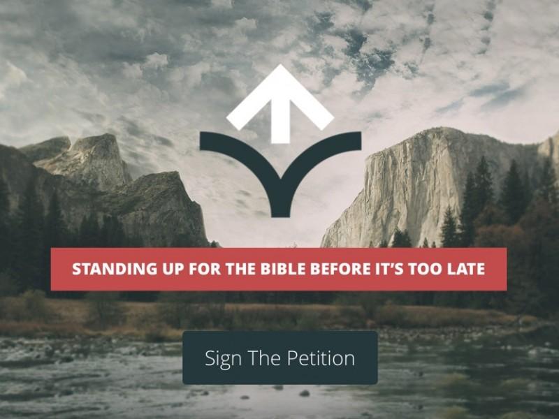 Si vous croyez que la Bible est infaillible et sans erreur, signez vite cette pétition www.leboncombat.fr