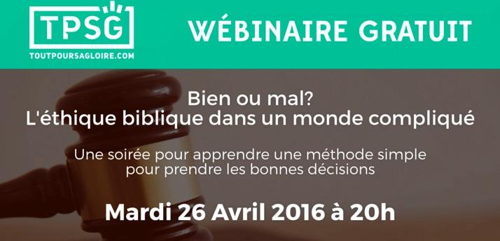 Formation gratuite à l'éthique biblique www.leboncombat.fr