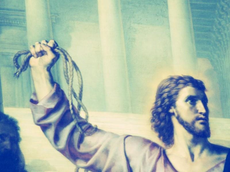 Ceux qui s'identifient à Jésus lorsqu'ils se mettent en colère ont-ils raison de le faire ?  www.leboncombat.fr