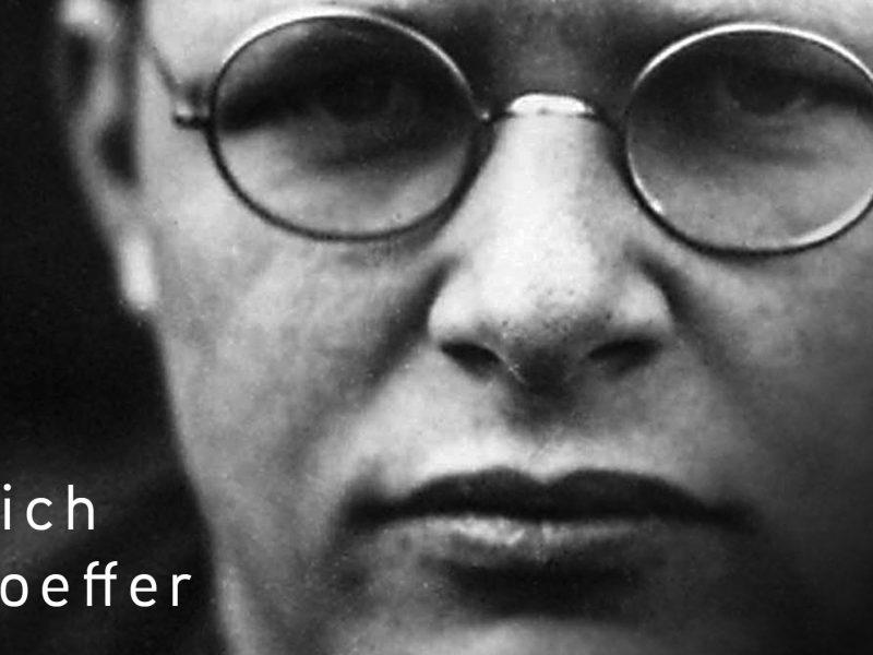 Prochaine formation #Transmettre sur Dietrich Bonhoeffer, du 11 au 13 novembre 2016 www.leboncombat.fr