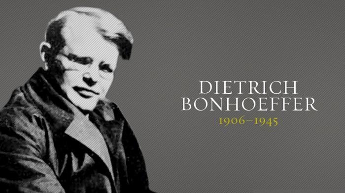 Dietrich Bonhoeffer sur l'église en tant que communauté de pécheurs www.leboncombat.fr